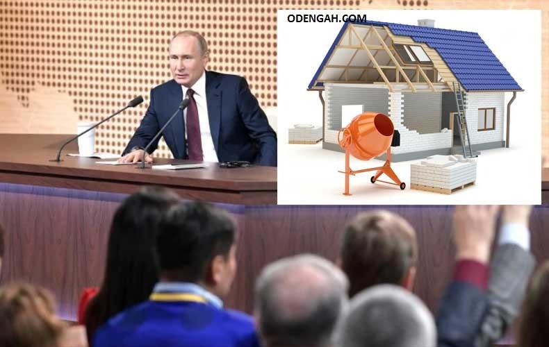 Что сказал Путин о ценах на стройматериалы 2021